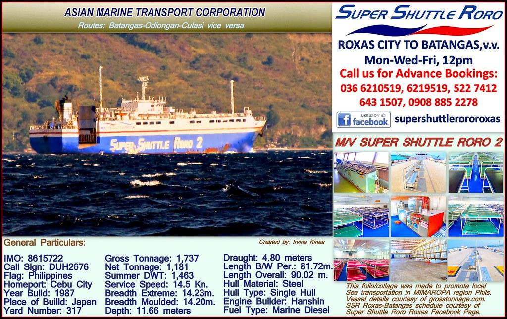 Folio/Collage of M/V Super Shuttle Roro 2 | For trip schedul… | Flickr
