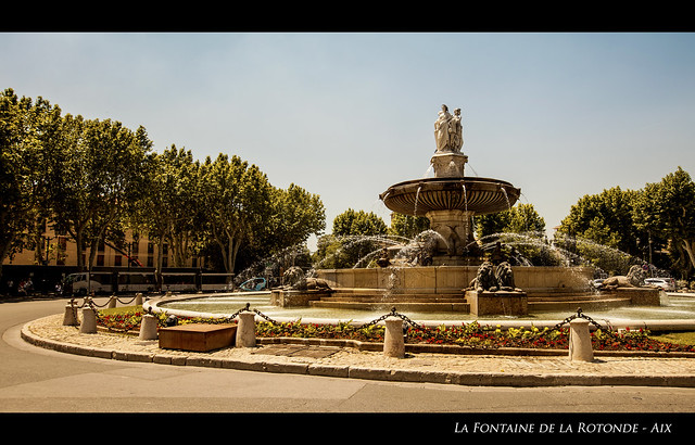 Aix Fontaine de la Rotonde