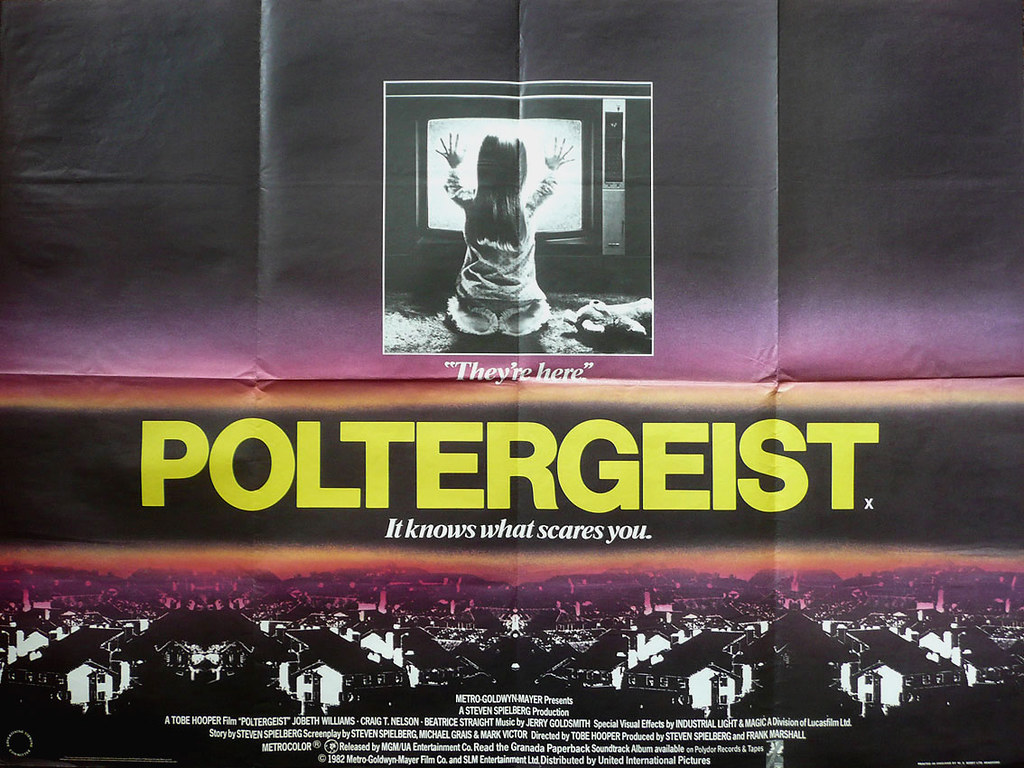 poltergeist-quad-poster | Checkout more amazing original Bri… | Flickr