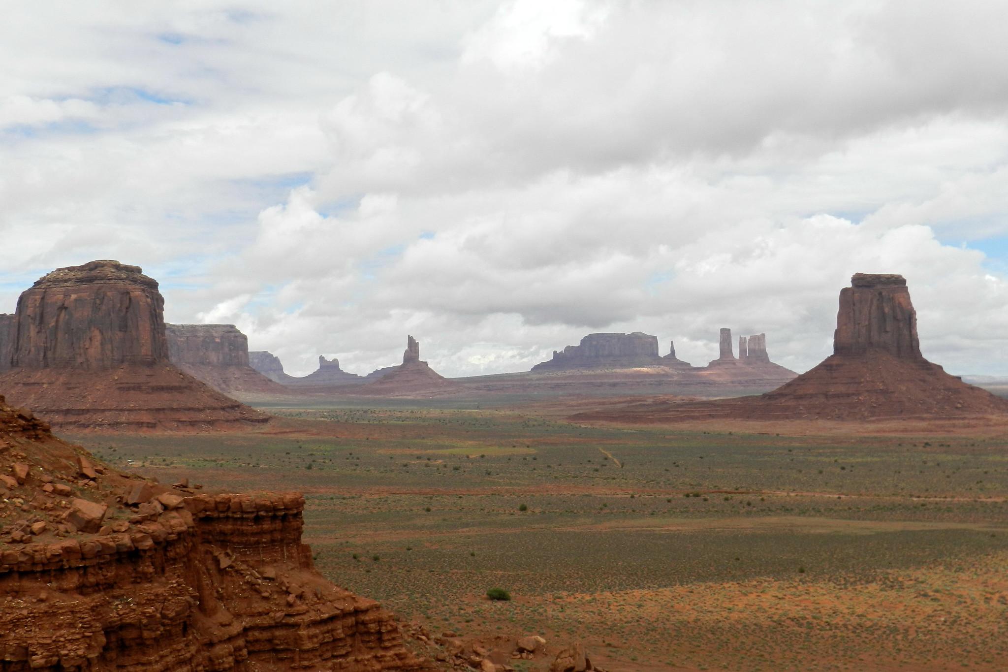 Valle de los Monumentos o Monument Valley reserva de los navajos EEUU
