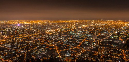 Night view on Santiago Chile | by Gаme of light