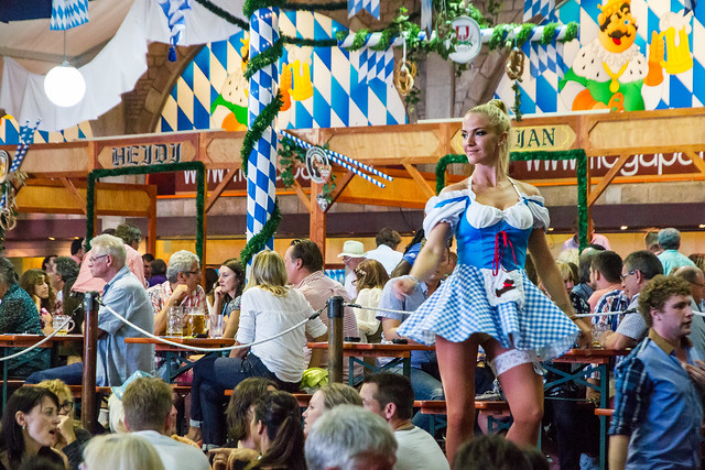 Dirndl- a traditional Bavarian dress
