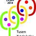 Affischen för trädgårdsevenemanget Tusen Trädgårdar 2014