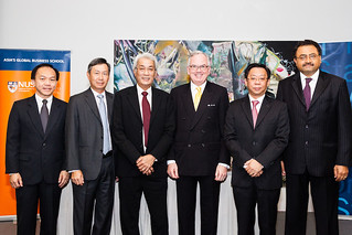 Morgan Stanley and NUS Business School MOU Signing, 12 March 2012
