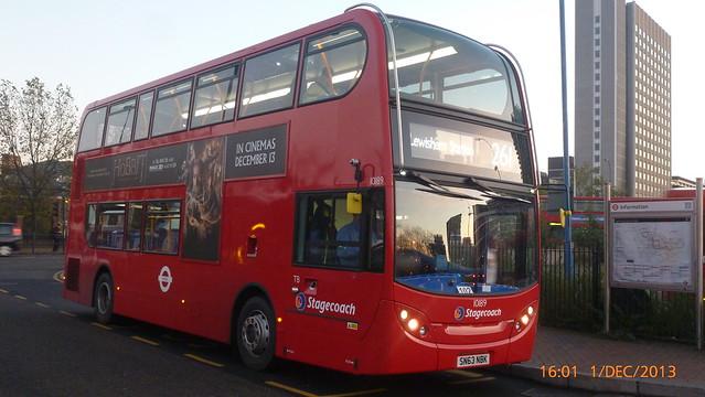 P1180638 10189 SN63 NBK at Lewisham Station Station Road Lewisham London