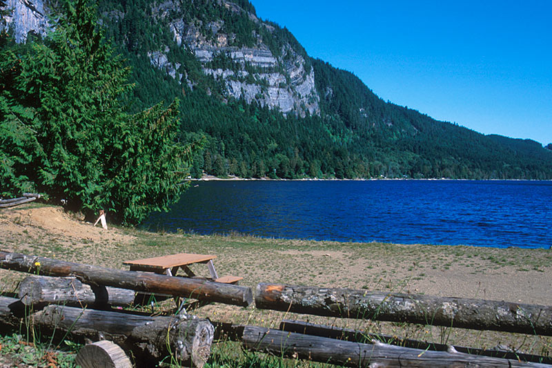 Horne Lake, Horne Lake Park, Vancouver Island, British Columbia, Canada