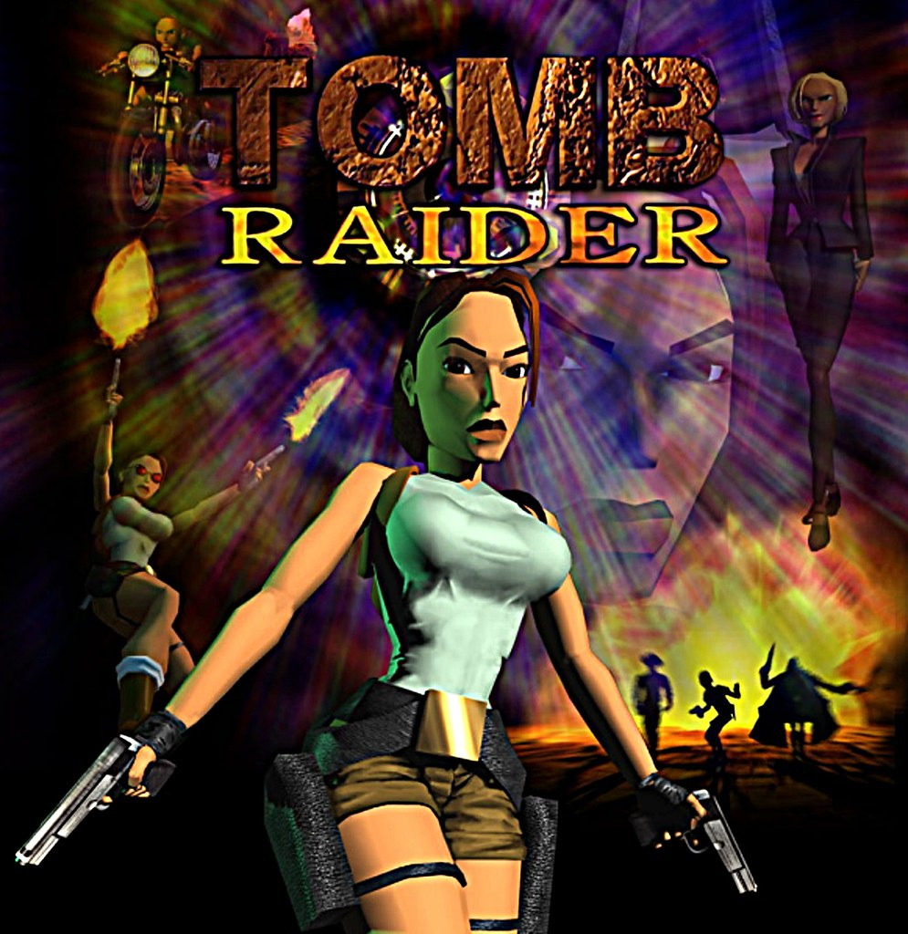 Tomb Raider 1 Ps1 Cover Sharp 1200p Tomb Raider 1 Ps1 Co Flickr