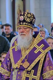 Литургия в Покровском соборе 157