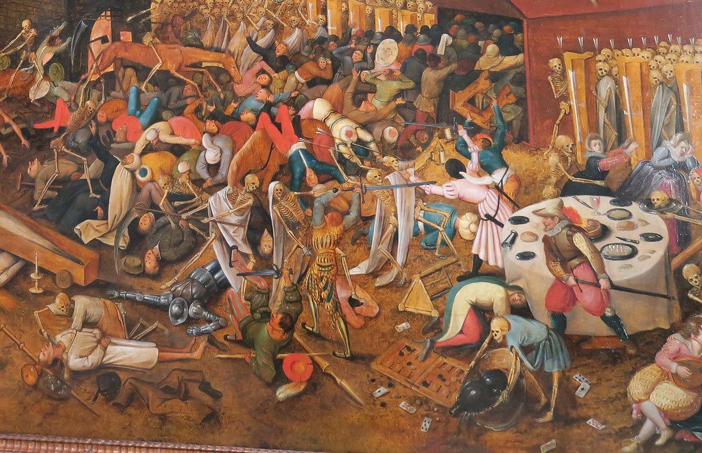 Kunstmuseum Basel - The Triumph of Death by Pieter Bruegel the Elder-detail