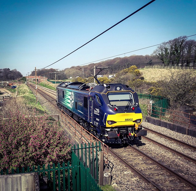88002 to Carlisle,Woodacre near Garstang