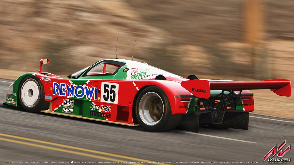 Assetto Corsa Mazda 787B Group C