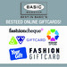 Fashion Giftcards