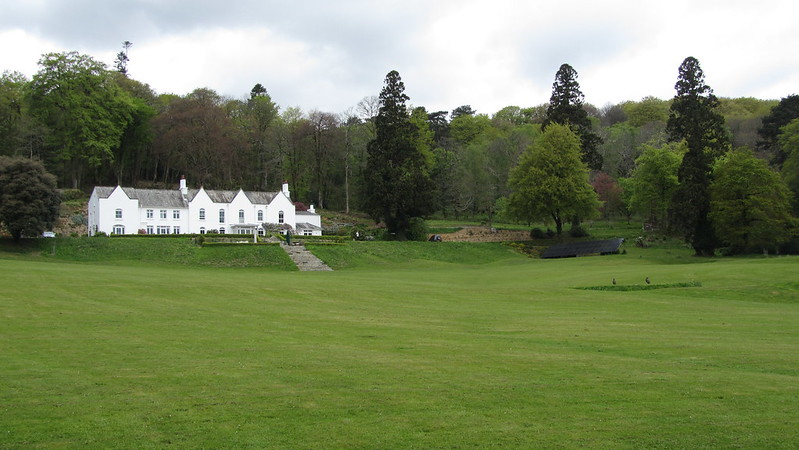 Front Lawn of Holne Chase Hotel