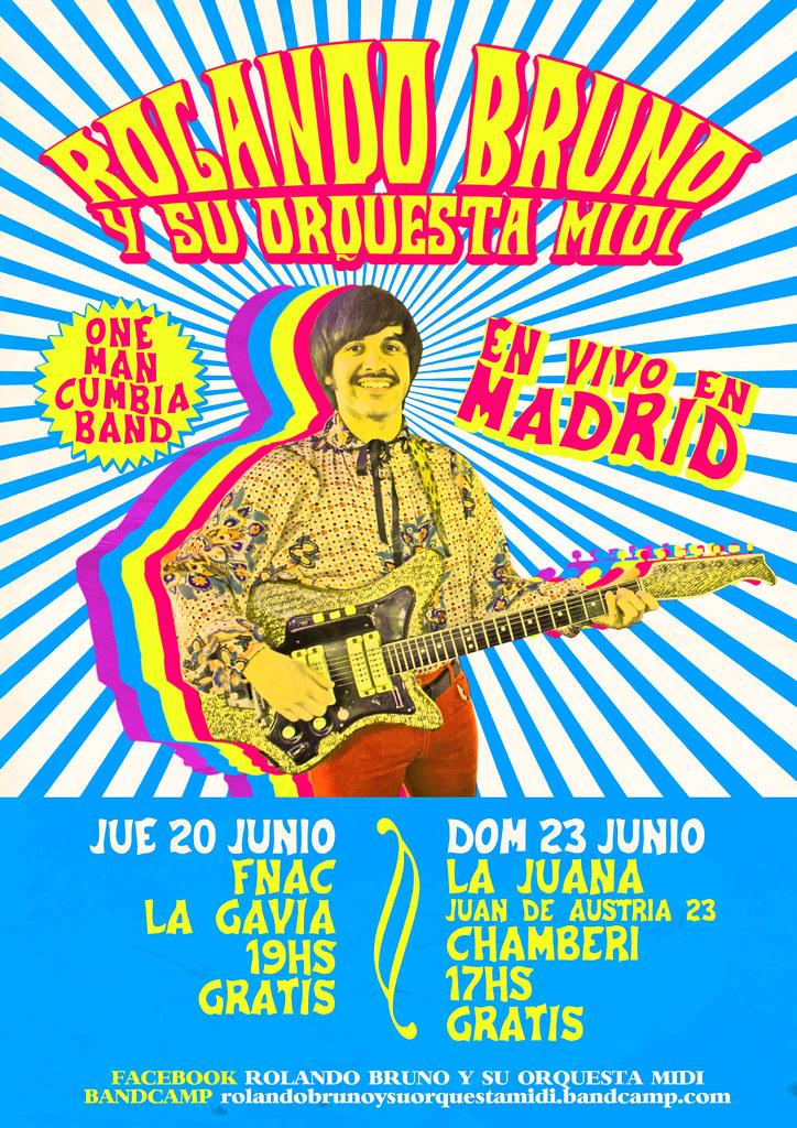 ROLANDO BRUNO Y SU ORQUESTA MIDI - Poster | Rolando Bruno | Flickr