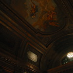 Inside, ceiling of NY Library