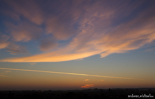 clouds sunrise cyprus nicosia lakatamia
