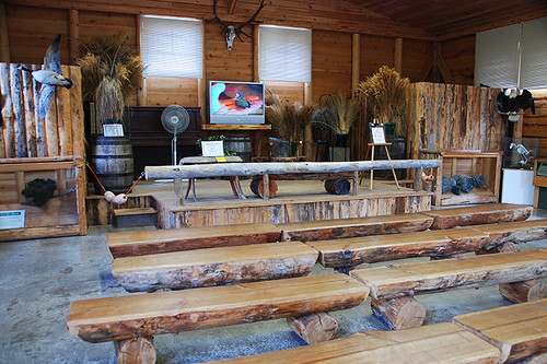 May Neish Learning Centre, North Island Wildlife Recovery Centre, Errington, Vancouver Island, British Columbia
