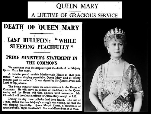 24th March 1905 - Death of Queen Mary | by Bradford Timeline