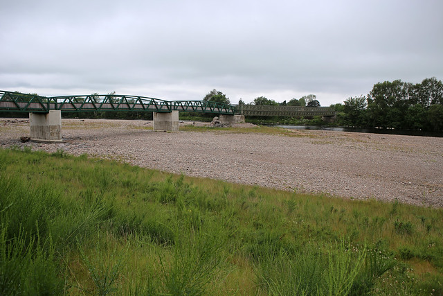 The bridge over the River Findhorn, Forres