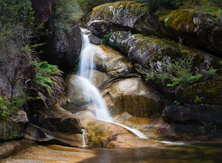 Ladies Bath Falls Bright Mt Buffalo National Park
