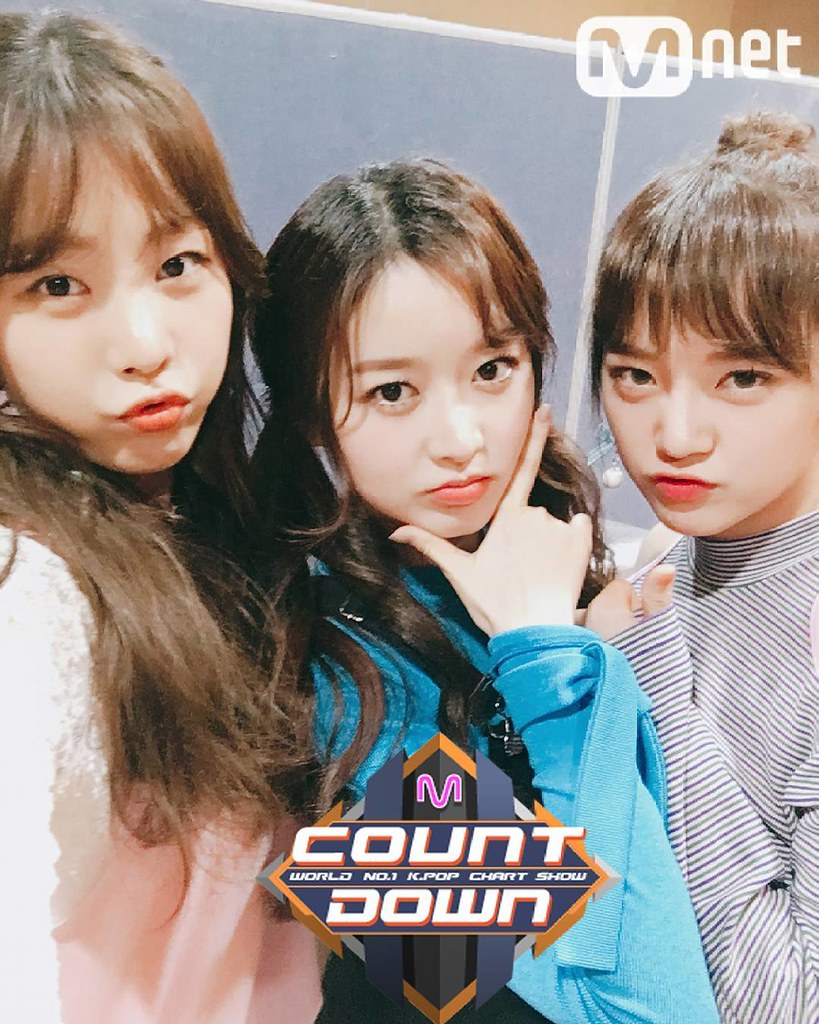 170420 MNET M! COUNTDOWN OFFICIAL TWITTER UPDATE WITH GUGU