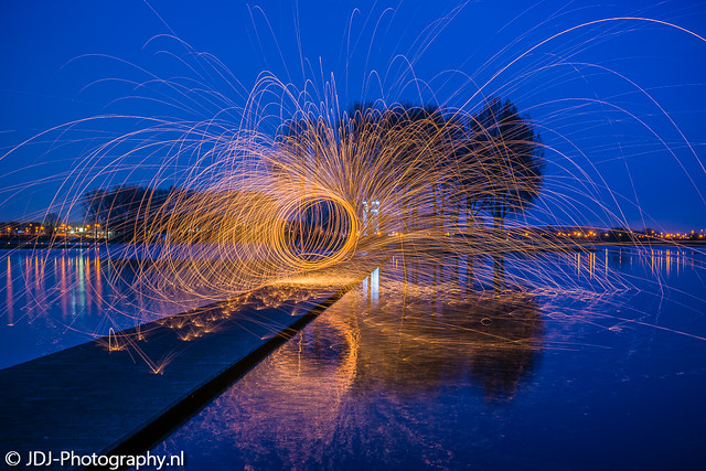 Sparks at the island