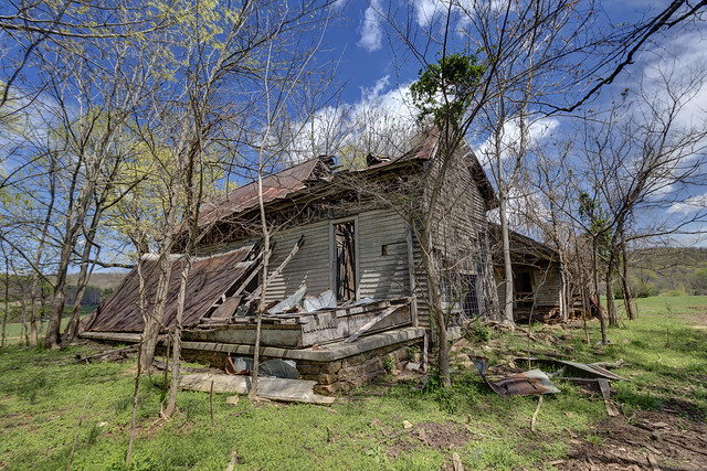 Cove Chapel School, White County, Tennessee 2