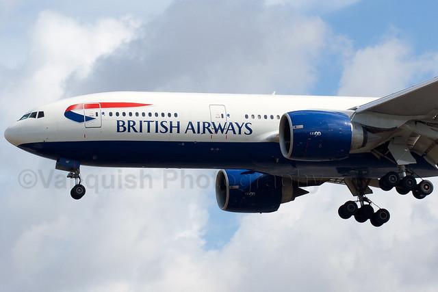G-VIIF British Airways B777-200 London Heathrow Airport