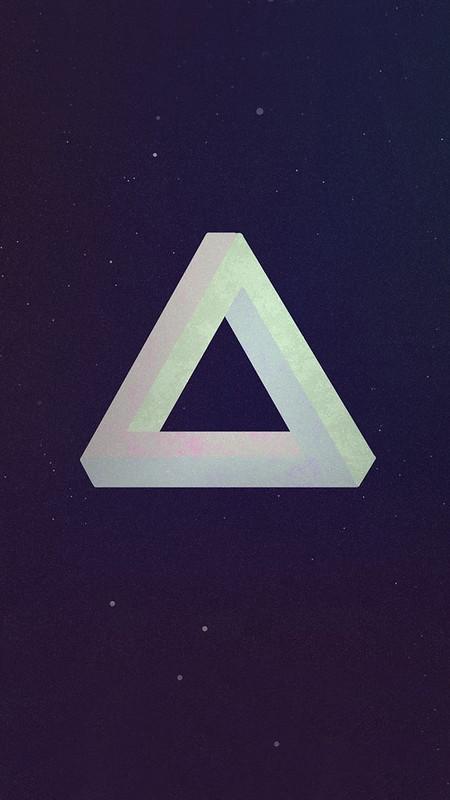 Triangle iOS Wallpaper