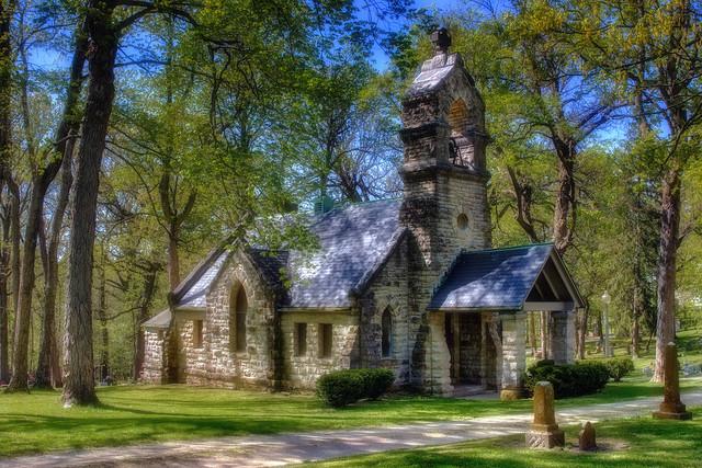 St. John The Baptist Chapel, Old Gillett Farm, Elkhart, Illinois