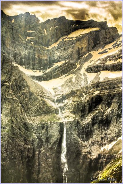 detalle de la cascada y circo de gavarnie 1