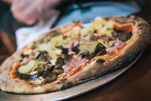 Pizza at Epcot