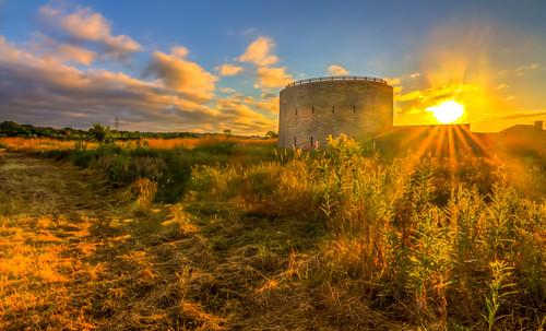 park morning building beautiful sunshine minnesota sunrise canon fort historic tokina national mn hdr snelling 1116 60d
