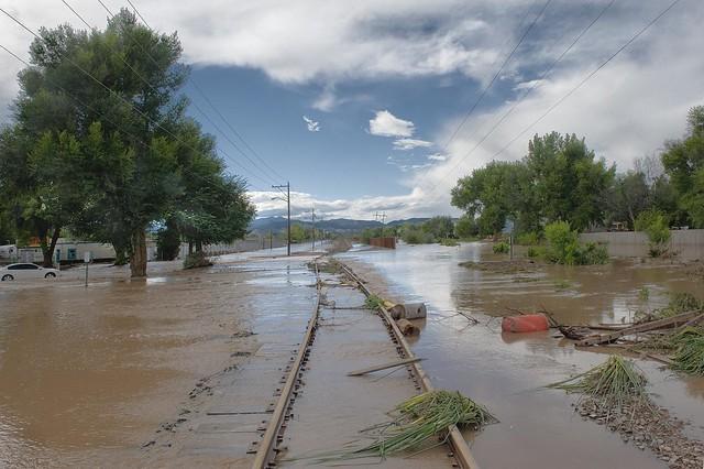 Rock train drain