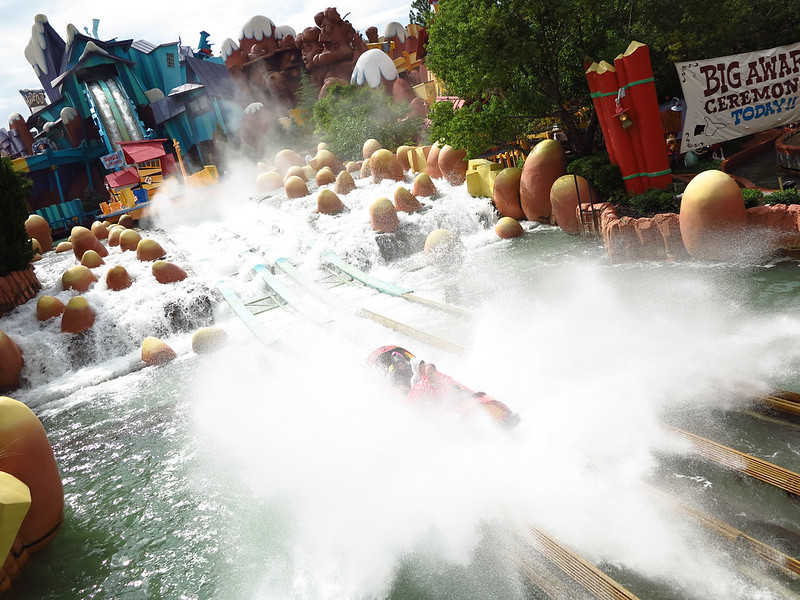 A big splash!