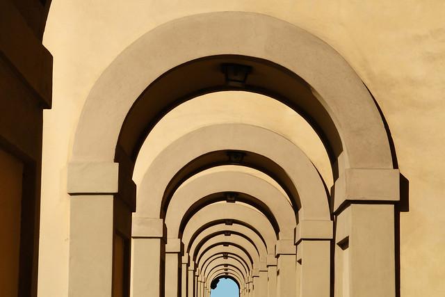 archi corridoio vasariano