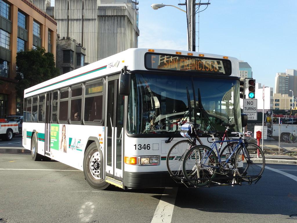 Ac Transit 1346 2013 Gillig Low Floor Advantage F San Fra