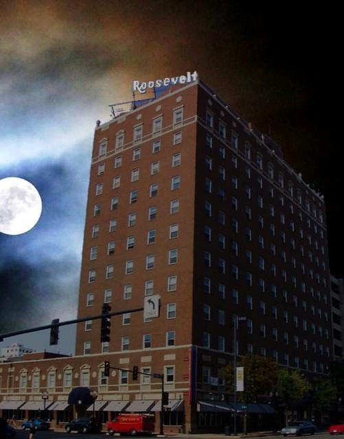 Hotel Roosevelt  ~ Cedar Rapids Iowa ~ Historical Hotel