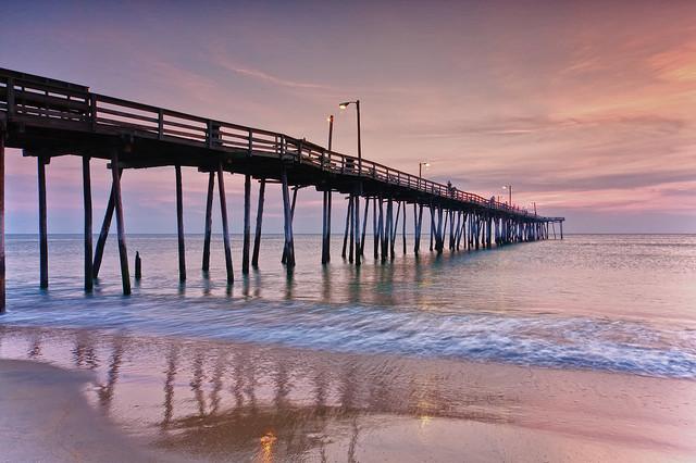 Nags Head Fishing Pier, Outer Banks, North Carolina