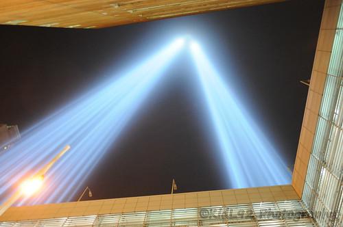 9/11 Memorial Lights (9/11/2013)   by KidL92