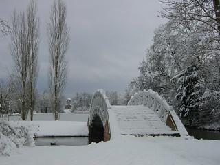 Schwetzinger Schlosspark im Winter (2001)   by chikorita83