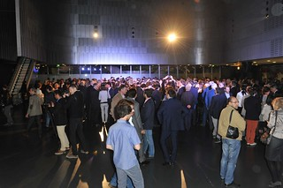 Crowd at Moncenisio unveiling
