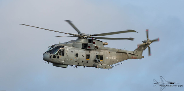 Royal Navy Agusta Westland Merlin MK2