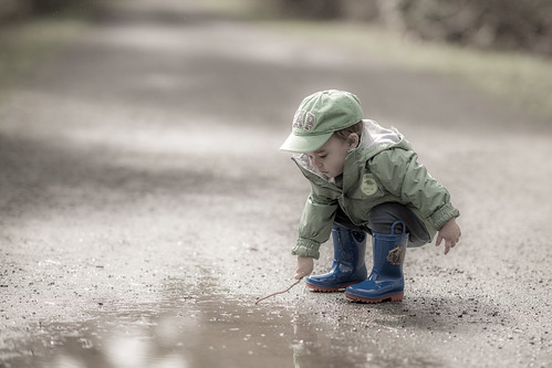 Puddle play   by westcoastcaptures