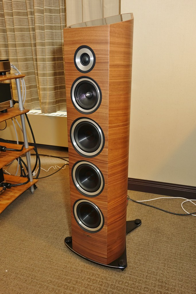 Sony RX10, Sonus Faber Venere S speakers, Montréal Audio F