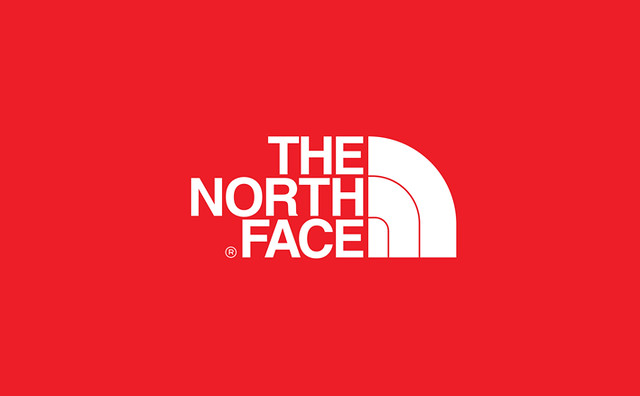 the north face logo design