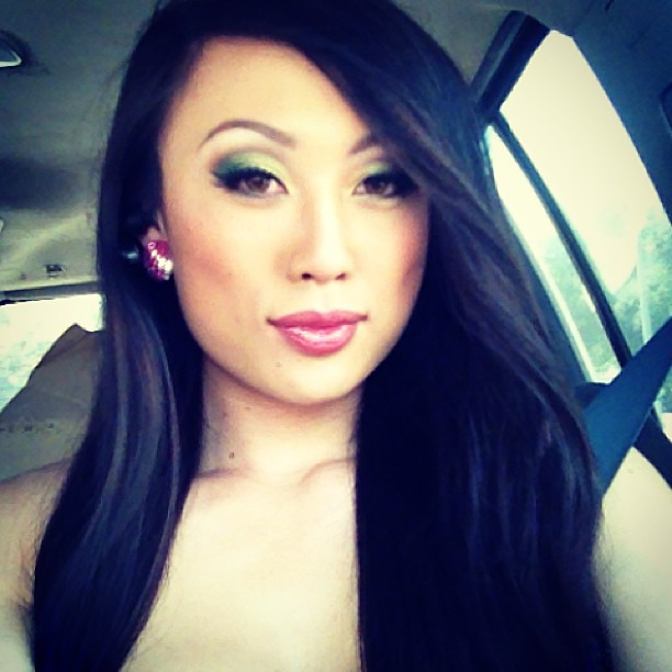 Headed to my shoot for DVD American Shemale idol:) excited