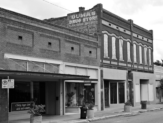 The ghost of the Dumas Drug Store...