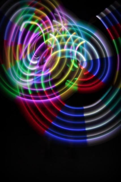 Jugando con  luz