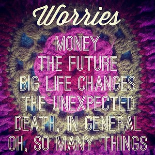 #30lists #day5 #worries | by prideofazchick